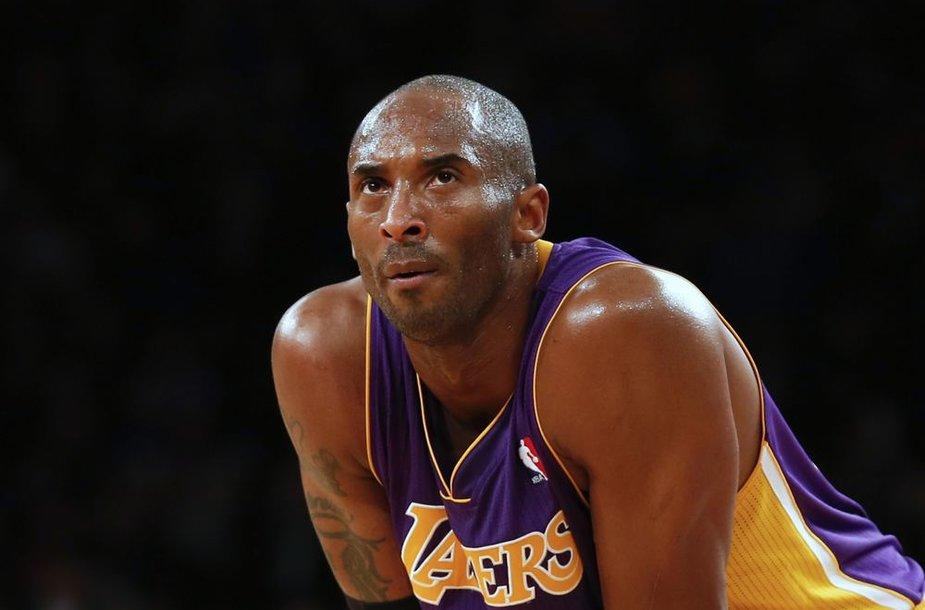 Kobe Bryantas yra patenkintas savo žaidimu