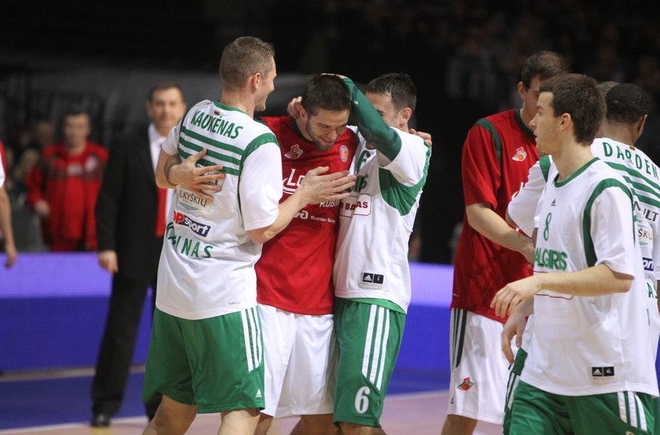 Mantas Kalnietis susitiko su buvusiais komandos draugais