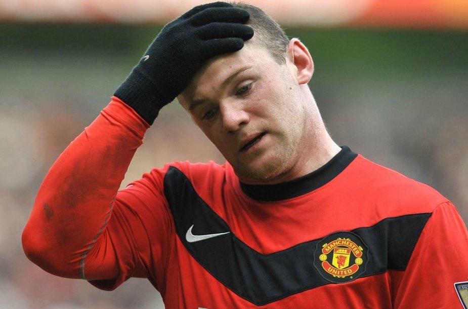 Wayne'o Rooney šeimą sukrėtė nelaimė