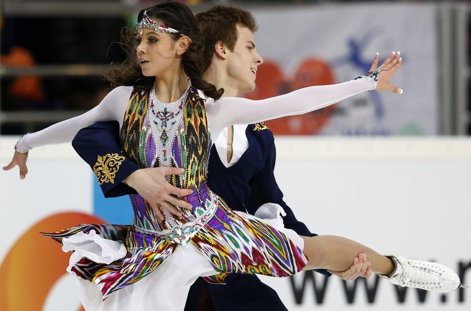 Elena Ilinykh ir Nikita Katsalapovas