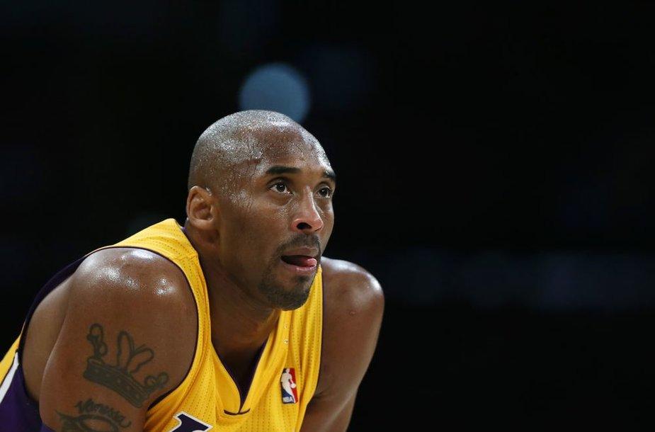 Kobe Bryantas atliko 14 rezultatyvių perdavimų