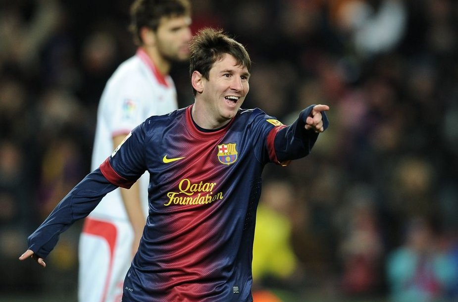 Lionelis Messi pelnė pergalingą įvartį
