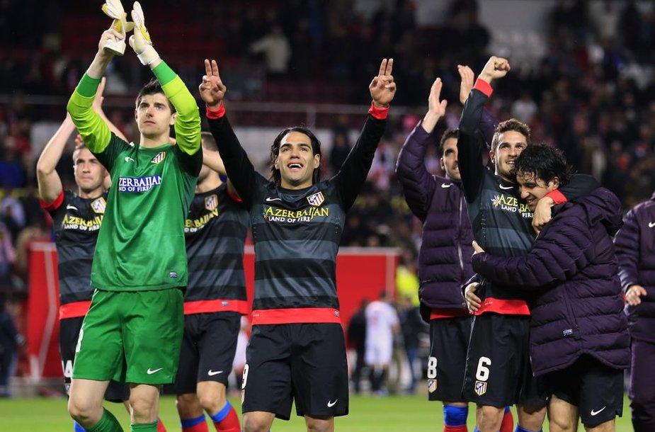 """Madrido """"Atletico"""" komanda"""