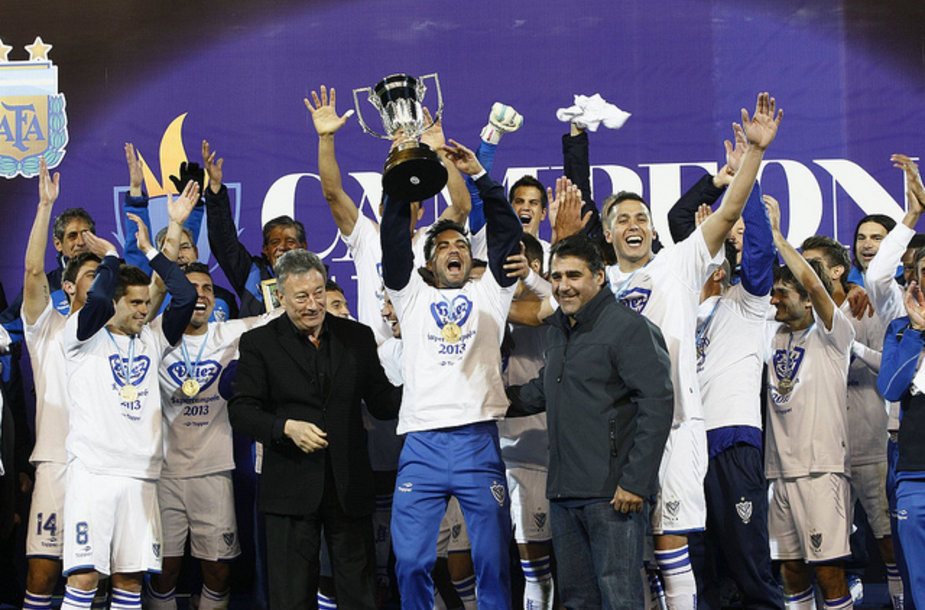 """Velez Sarsfied"" futbolininkų triumfas"