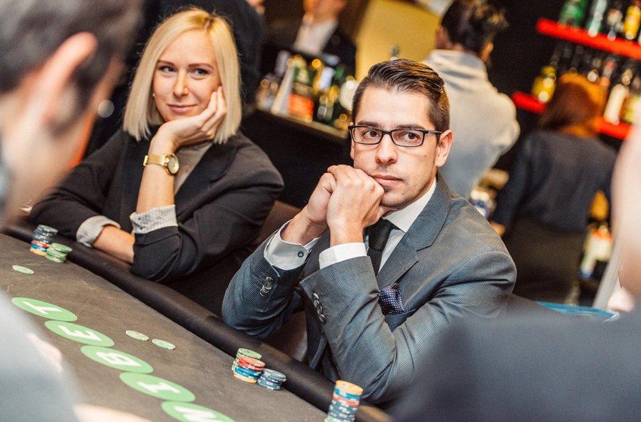 Labdaringas pokerio turnyras Vilniuje