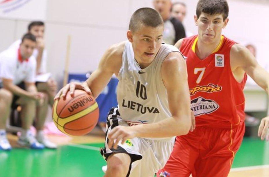 Lietuvos U-16 rinktinė Europos čempionate