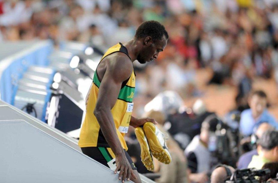Usainas Boltas po diskvalifikacijos