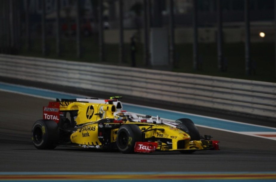 """Kitą sezoną """"Lotus Renault GP""""formulių spalvos bus kitokios"""