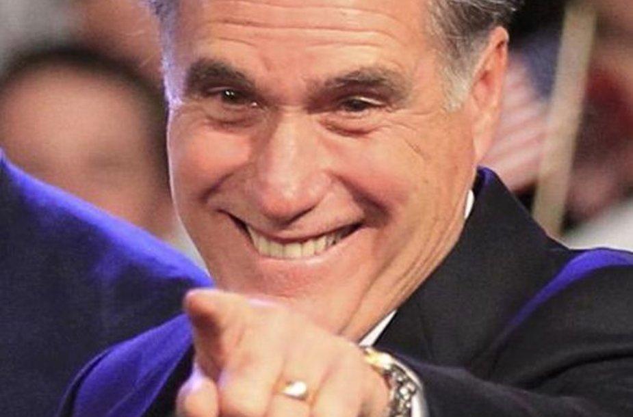 JAV respublikonas Mittas Romney