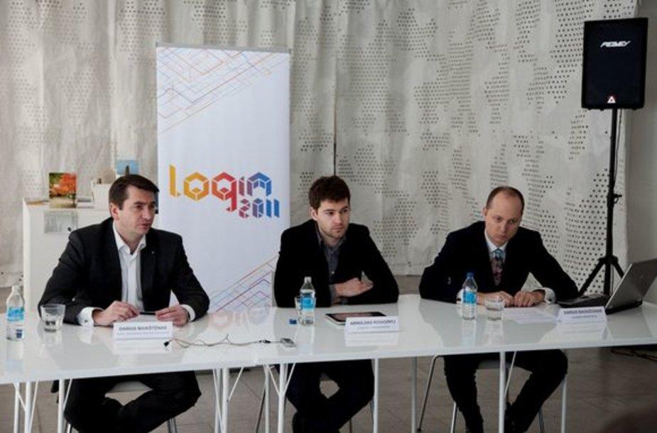 """Login 2011"" spaudos konferencija"