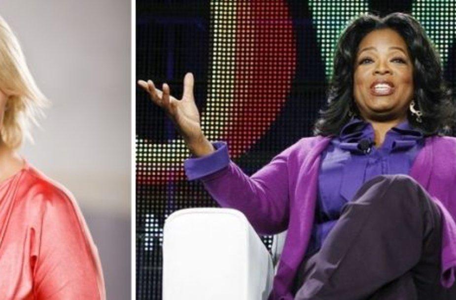 Agnė Armoškaitė ir Oprah Winfrey