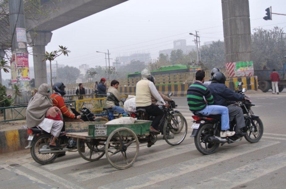 Vairavimo ypatumai Indijoje