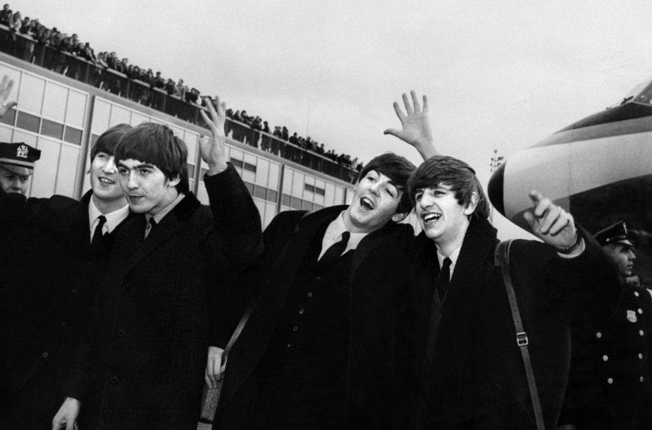 """1964 metais daryta """"Beatles"""" nuotrauka"""