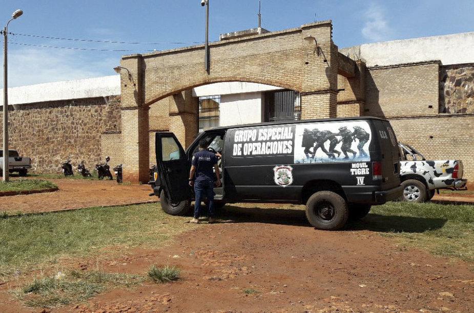 Paragvajaus kalėjimas, iš kurio pabėgo kaliniai