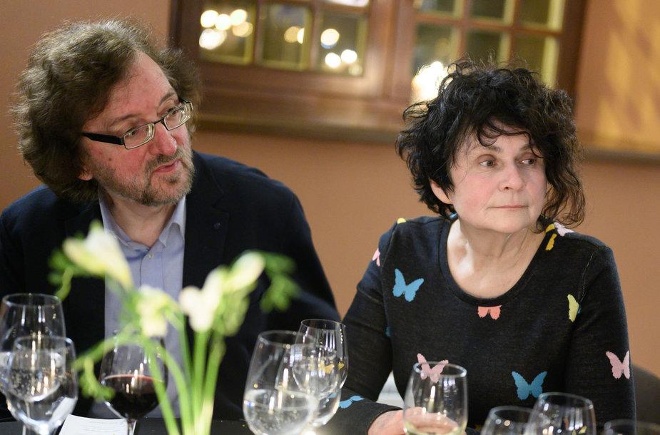 Audronė Urbonaitė ir Jaroslavas Melnikas