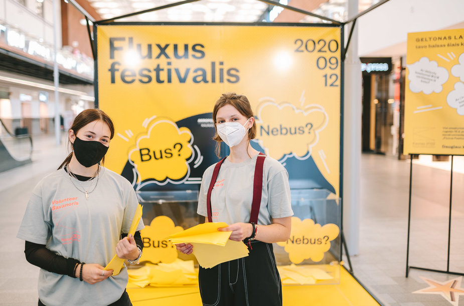 Kaune įvyko Fluxus festivalis