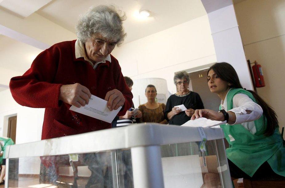 Rinkimai Gruzijoje