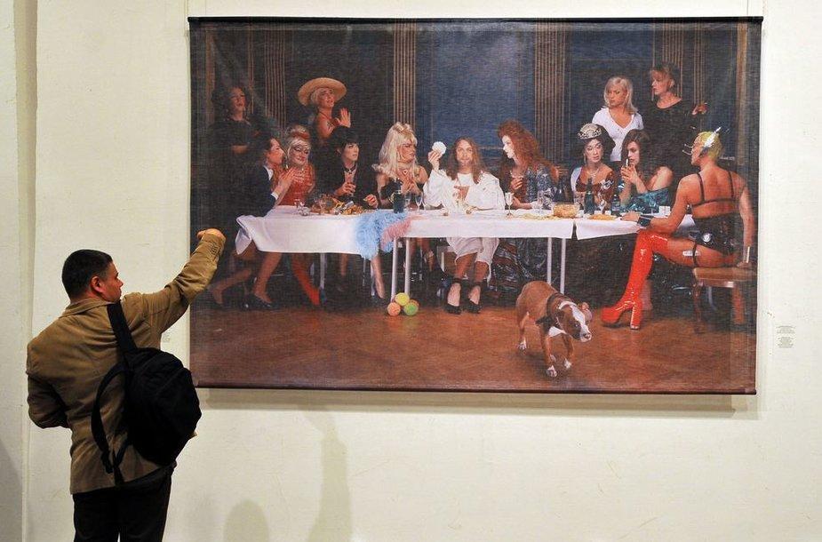 Skandalingas Elisabeth Ohlson Wallin fotografija