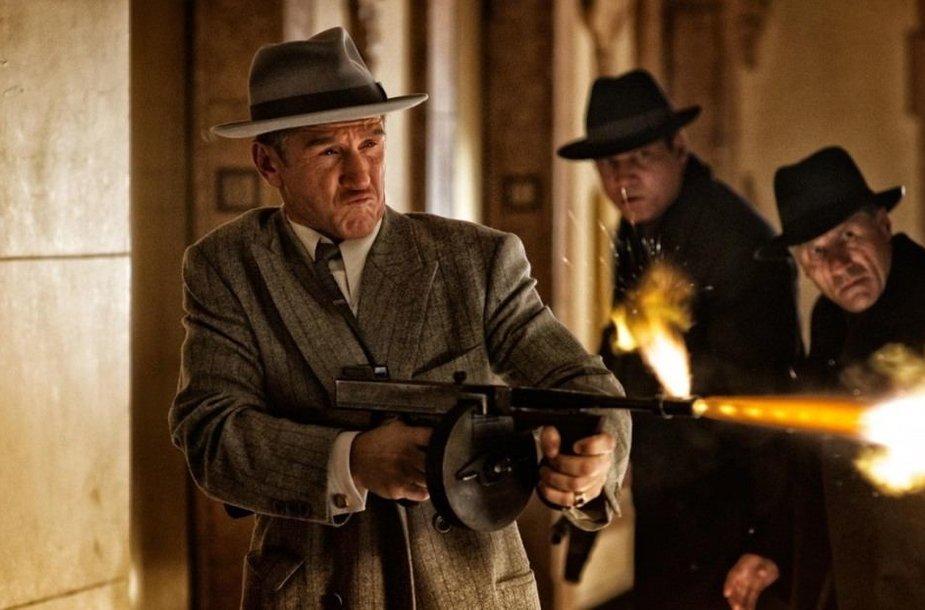 """Filmas """"Gangsterių medžiotojai"""""""