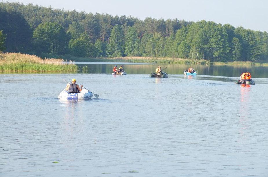 Baltajo ežeras Lazdijų mieste