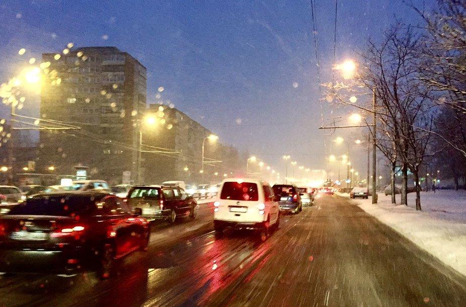 Rytinis eismas Vilniuje