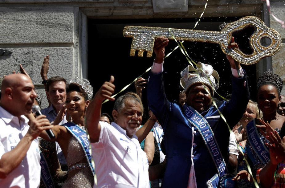 Paskelbta Rio de Žaneiro karnavalo pradžia