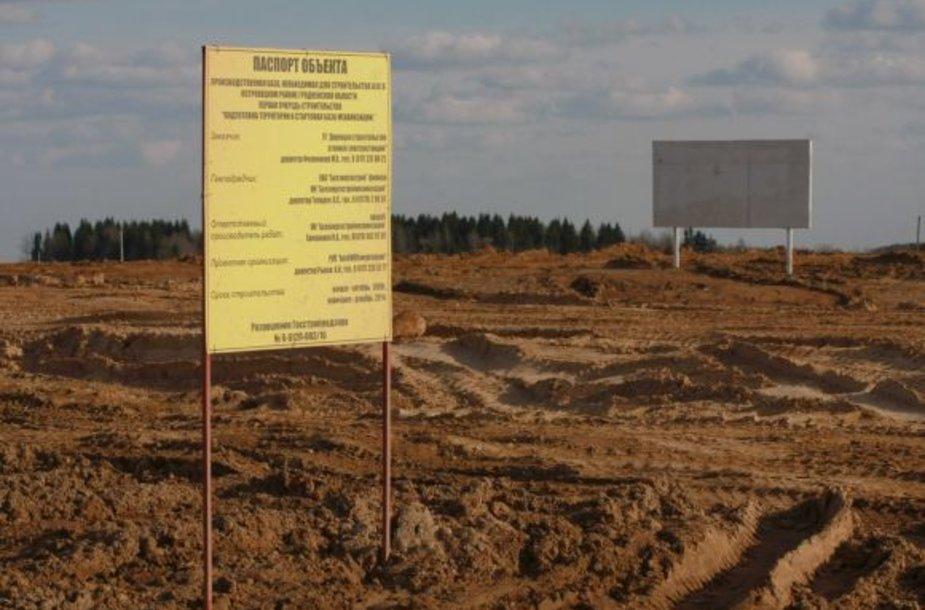 Astravo AE statybos Baltarusijoje