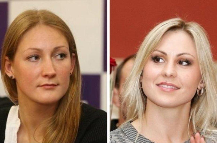 Donata Rimšaitė ir Laura Asadauskaitė