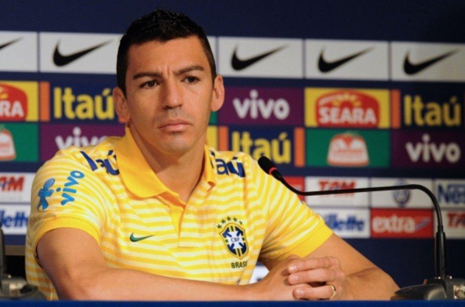 Brazilijos futbolo rinktinės kapitonas Lucio