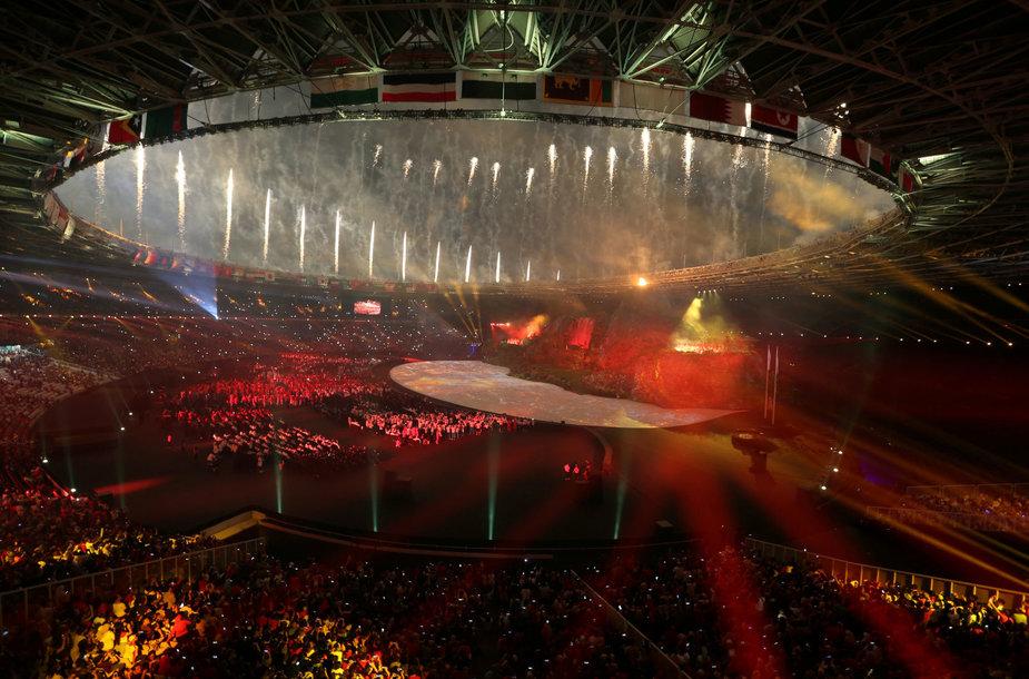 Azijos žaidynių atidarymo ceremonija