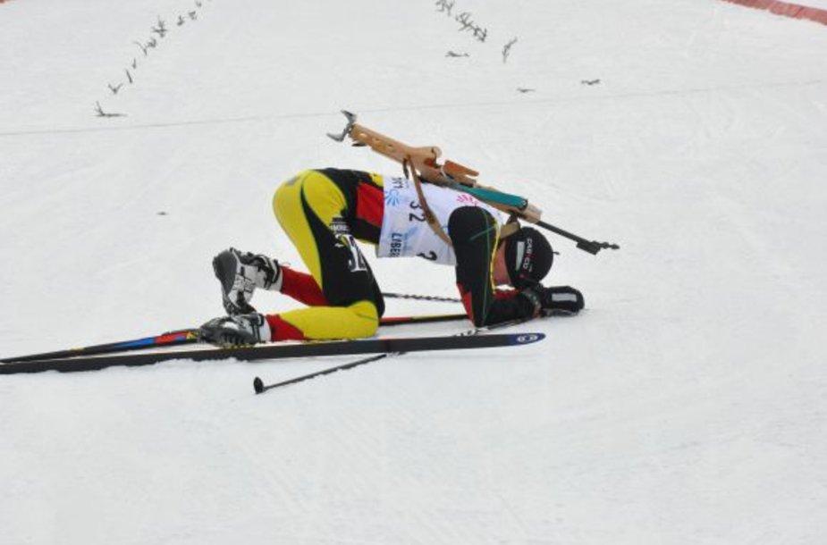 M.Girkus po finišo