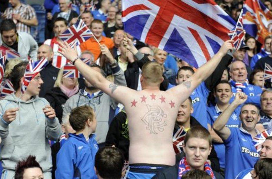 """""""Rangers"""" fanai"""