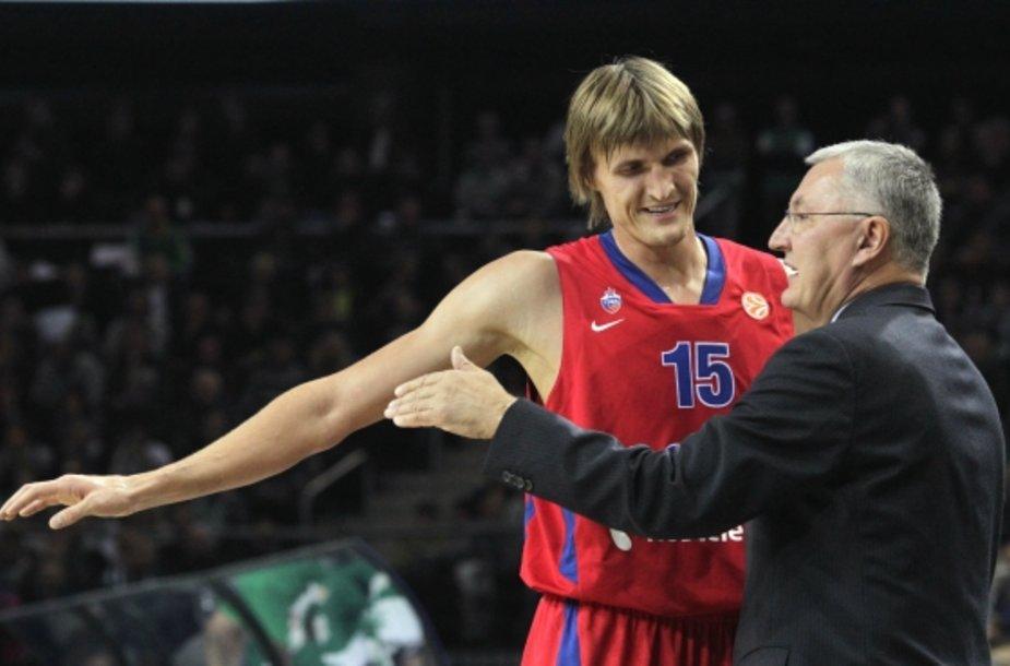 Andrejus Kirilenka ir Jonas Kazlauskas
