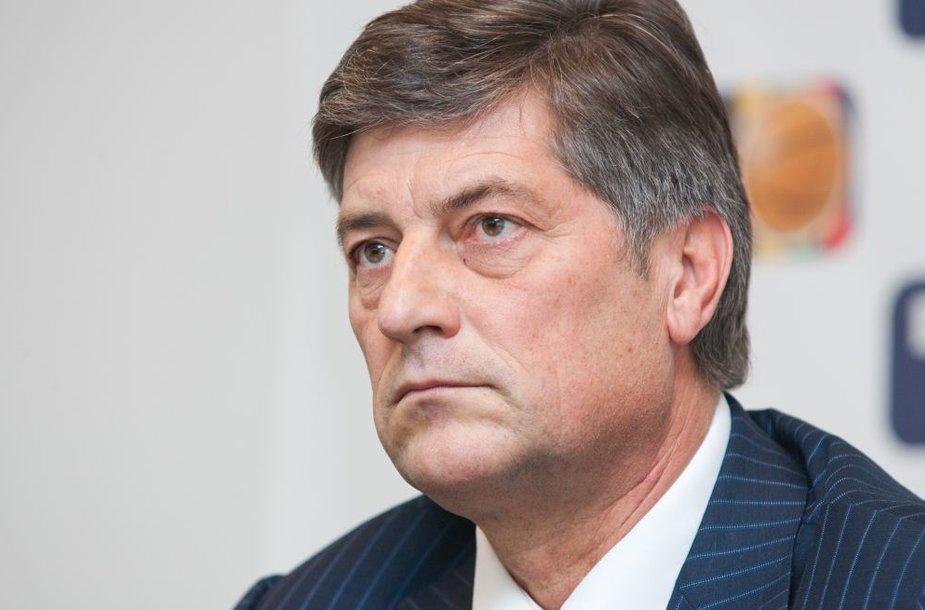 LKL prezidentas Šarūnas Kliokys