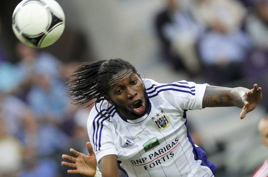 """Dieumerci Mbokani (""""Anderlecht"""")"""