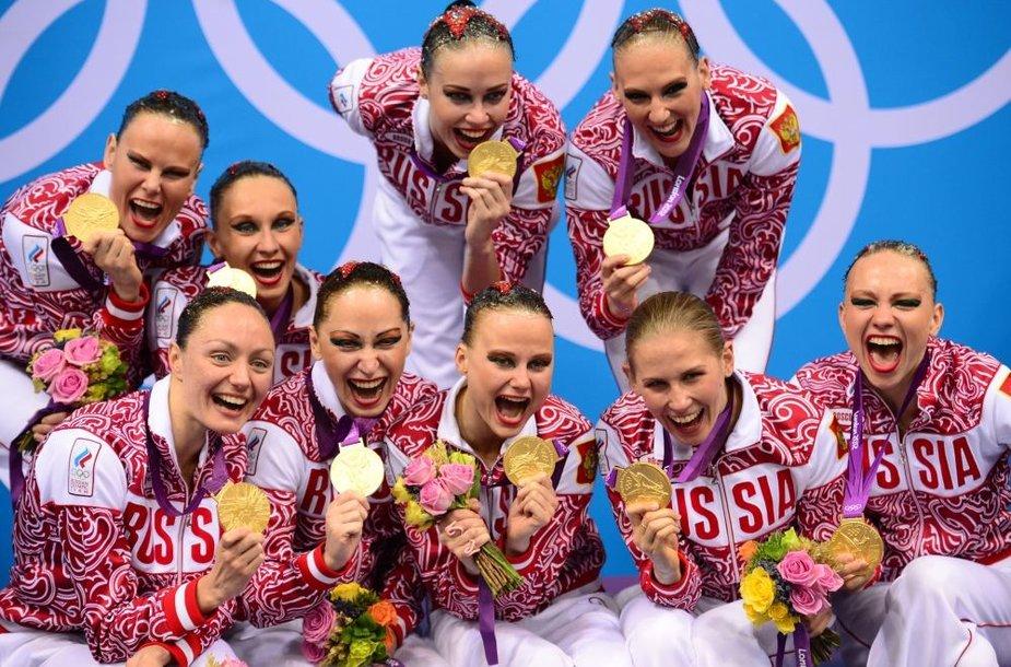 Rusijos sportininkės