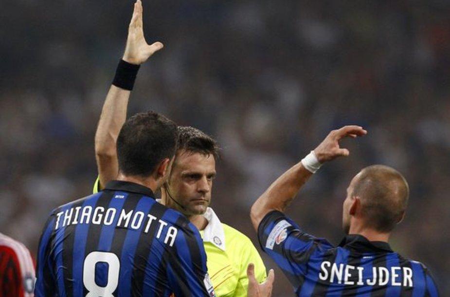 """""""AC Milan"""" įveikė """"Inter"""""""