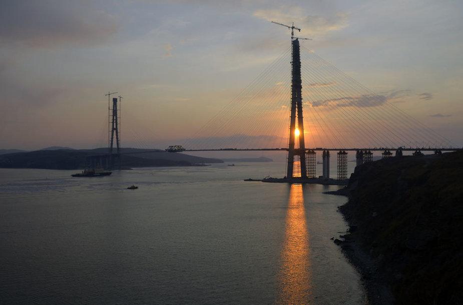Vladivostoko naujasis tiltas.