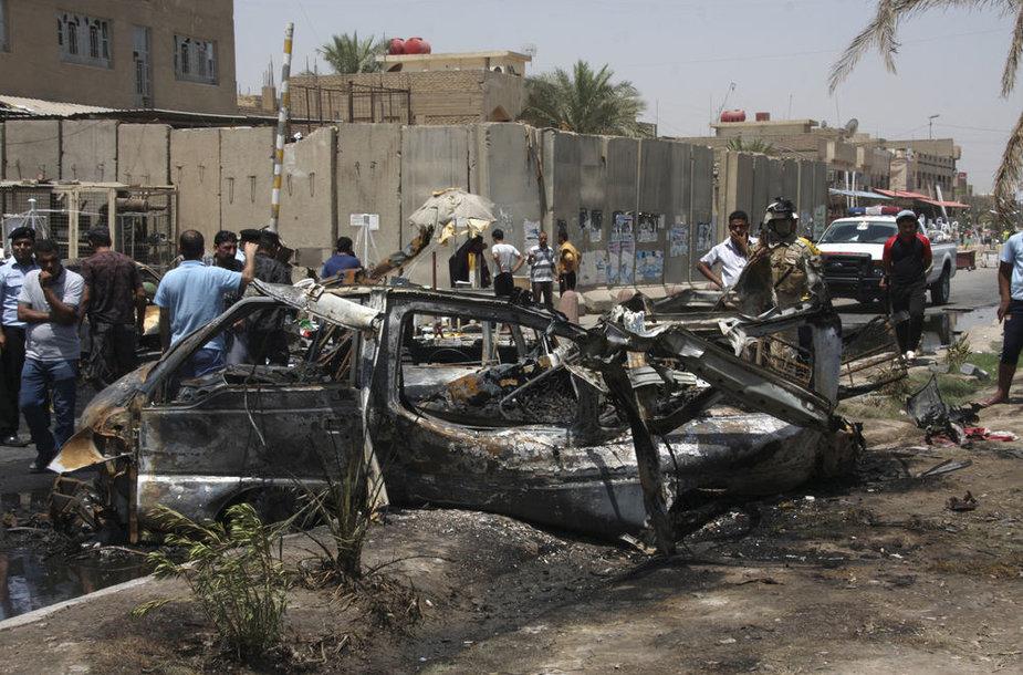 Sprogdinimai Irake