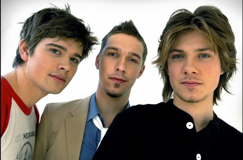"""Grupė """"Hanson"""": Zacas, Isaacas ir Tayloras Hansonai"""