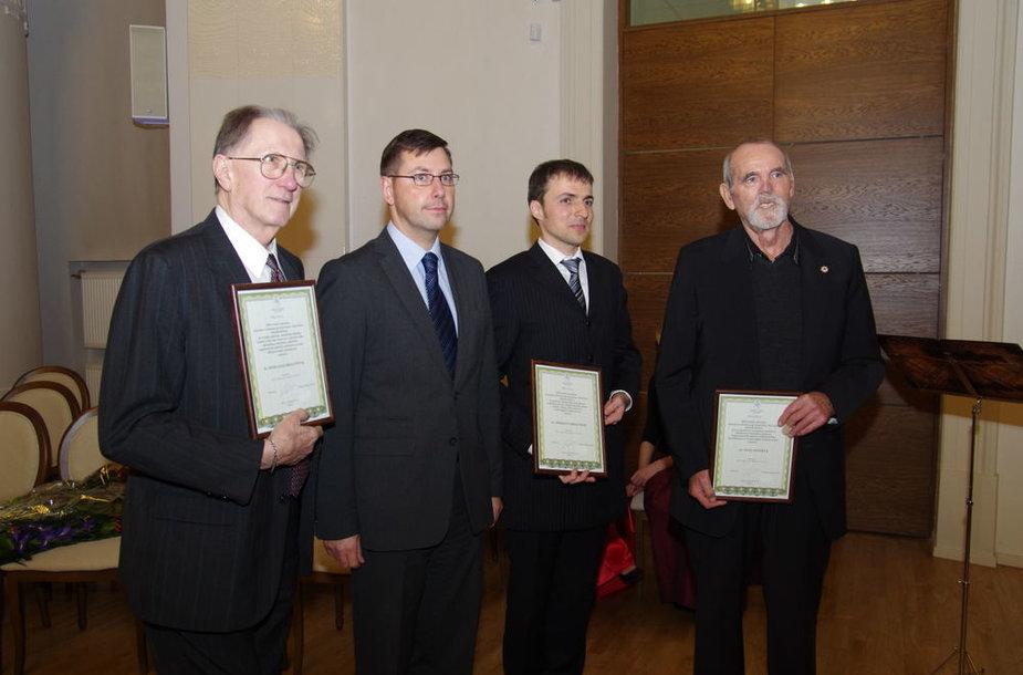 Romualdas Kriaučiūnas, Gintaras Steponavičius, Skirmantas Kriaučionis ir Vilius Lėnertas