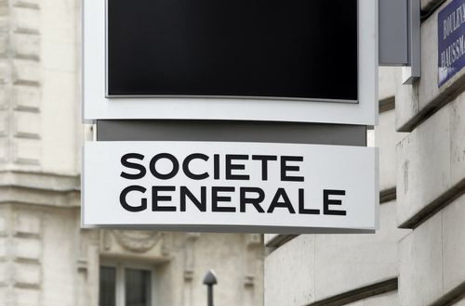 "Prancūzijos bankas ""Societe Generale"""