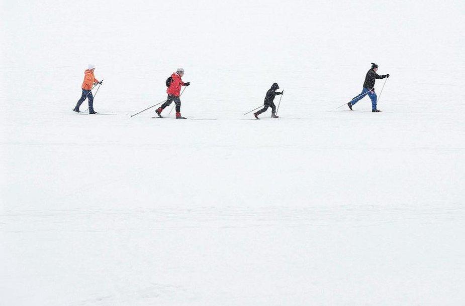 Lygūmų slidininkai
