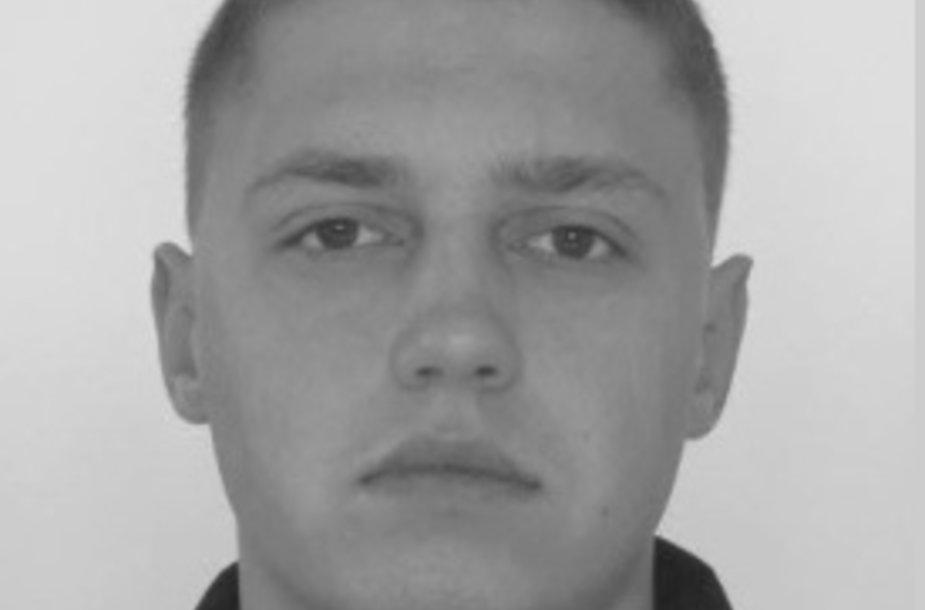 Ieškomas įtariamasis Martynas Sasnauskas