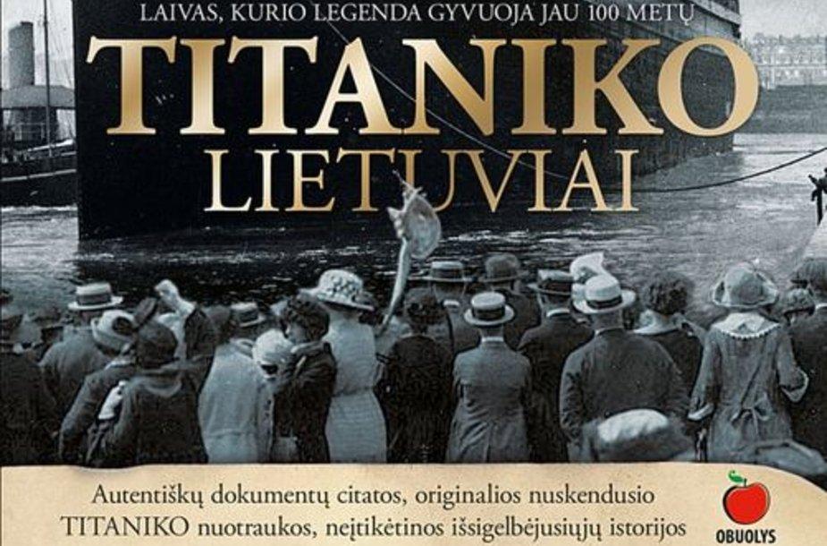 "Knygos ""Titaniko lietuviai"" viršelis"