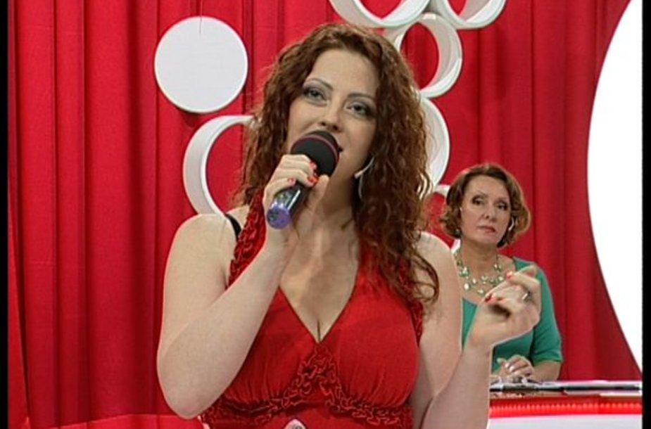 Dainininkė Rasa Kaušiūtė