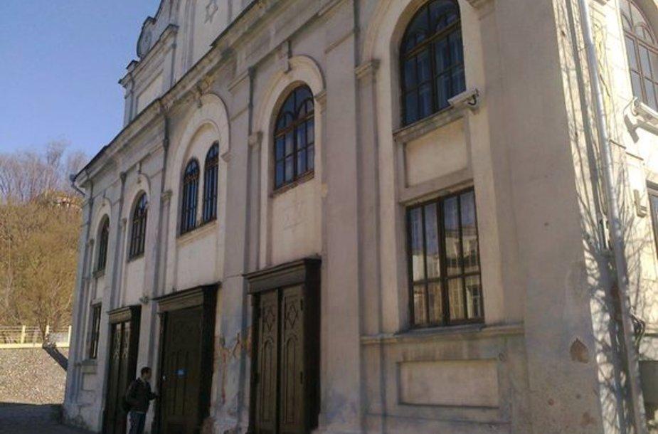 Kauno žydų sinagoga išniekinama jau ne pirmą kartą.