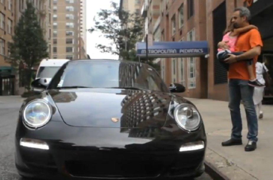 """""""Porsche"""" vaizdo siužetas """"Everyday Magic"""" (Kristinos Woo)"""