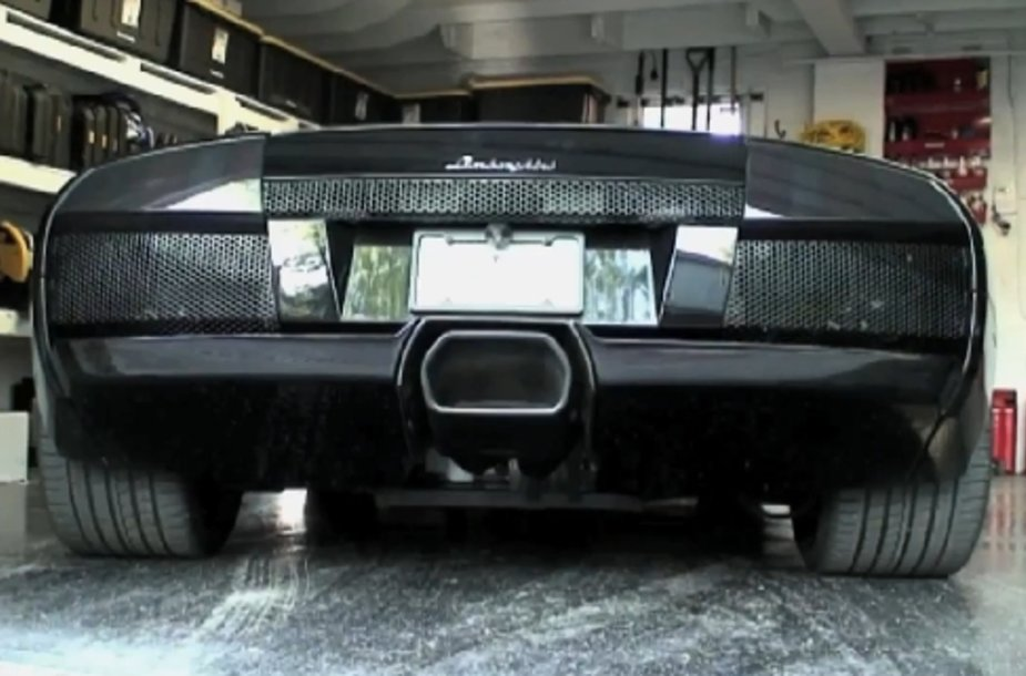 """142 dB garsą pasiekiantis """"Lamborghini Murcielago"""""""