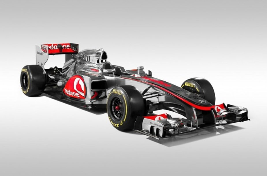 """2012 m. """"McLaren MP4-27"""" F-1 bolidas"""